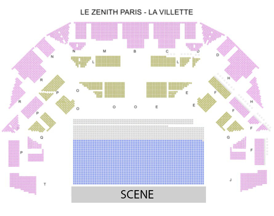 PARIS - ZENITH LA VILLETTE